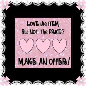 Other - 💗Reasonable💗offers considered💗